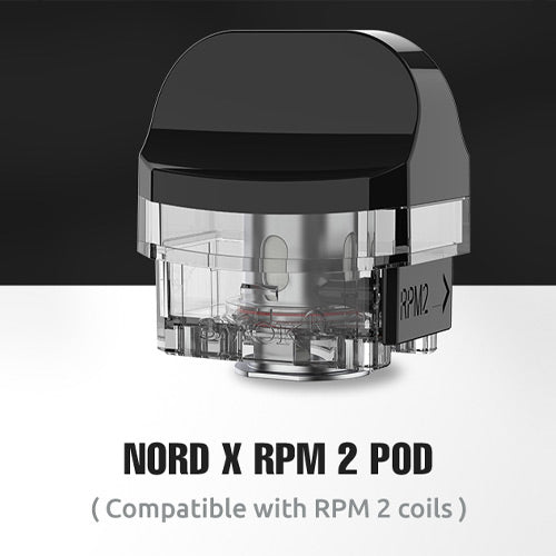 Smok Nord X Pod 6ml - Empty Pods (3 Pack)