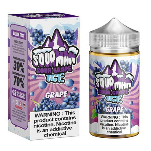 Sour Grape Ice - Sourman - CRAM Vape - Scunthorpe Vape Store and Doncaster Vape Store