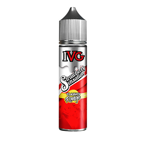 Strawberry Sensation - IVG - CRAM Vape - Scunthorpe Vape Store and Doncaster Vape Store