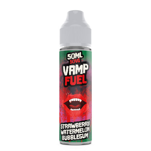 Strawberry Watermelon Bubblegum - Vamp Fuel - CRAM Vape - Scunthorpe Vape Store and Doncaster Vape Store