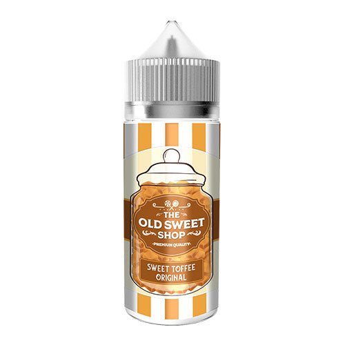 Sweet Toffee Original - The Old Sweet Shop - CRAM Vape - Scunthorpe Vape Store and Doncaster Vape Store