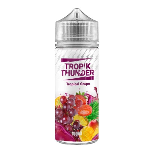 Tropical Grape - Tropik Thunder - CRAM Vape - Scunthorpe Vape Store and Doncaster Vape Store