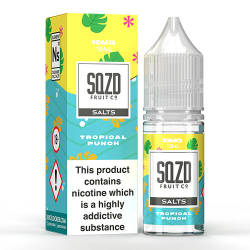 Tropical Punch - SQZD Salts - CRAM Vape - Scunthorpe Vape Store and Doncaster Vape Store