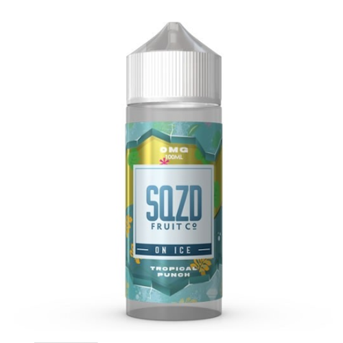 Tropical Punch on Ice - SQZD On Ice - CRAM Vape - Scunthorpe Vape Store and Doncaster Vape Store