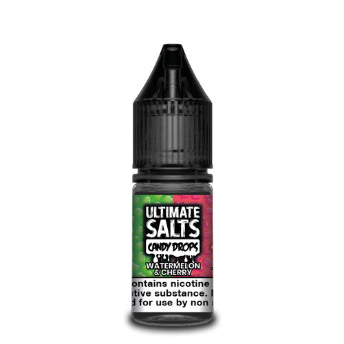 Watermelon & Cherry Candy Drops - Ultimate Salts - CRAM Vape - Scunthorpe Vape Store and Doncaster Vape Store