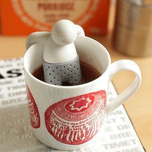 4 Pcs Mr. Tea Infuser