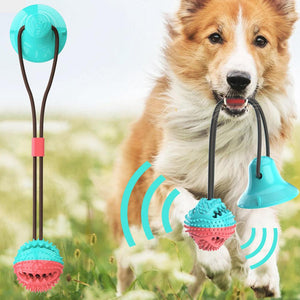 Teething Food Dispensing Dog Toy