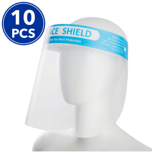 10 Pcs Full Face Visor Shield