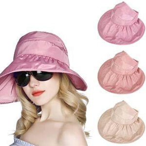 Classic Open-Top Design Trendy Hat - Sun Protective Rating of UPF 50+