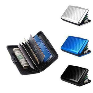 Aluminum Credit Card Wallet with RFID Protection - Protect Yourself from Identity Theft!