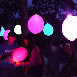 Happy Time LED Balloons - Great for Birthday, Weddings, and Parties!
