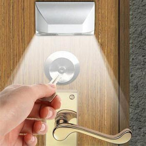 Motion Sensor LED Light for Door Lock - No More Fumbling in the Dark!