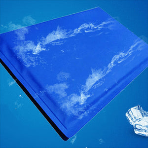 Instant Cooling Pad with Phase Change Material - No Leaks!