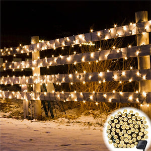 Solar-Powered LED Fairy Lights