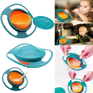 Spill-proof Bowl for Kids - No More Mess!