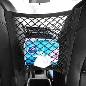 Car Seat Back Storage Net