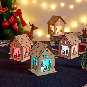 DIY LED Color-Changing Christmas House Lights (4pc)