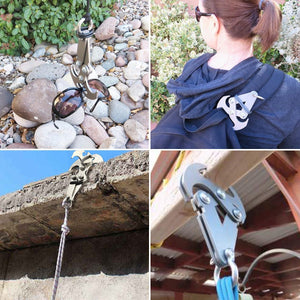 Heavy Duty Multi-Functional Ninja Gravity Hook