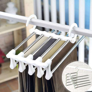 Easy Access Clothes Hanger Rack