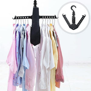 Magic Foldable Clothes Hanger (4pc)