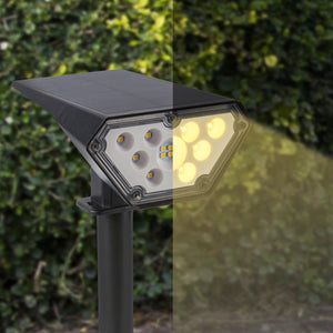Solar-Powered Spotlights
