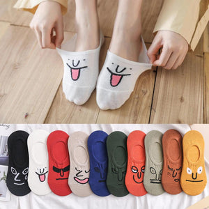 Funny Expression Socks (5 Pairs)