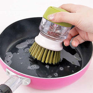 Cleaning Brush with Dispenser
