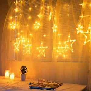 LED Starry Curtain Lights