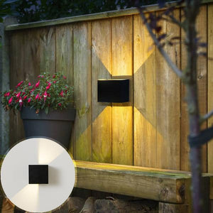 LED Outdoor Waterproof Cube Wall Lamp