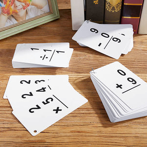 Math Flashcards - 216 cards to Add, Subtract, Multiply and Divide