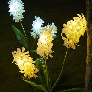 Solar-Powered LED Hyacinth Stake