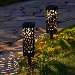 Solar Powered Vintage Garden Lamp