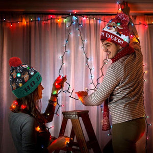 Ugly Christmas LED Beanie
