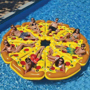 Inflatable Pizza Slice Float