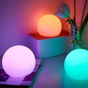 Waterproof Multi-Color LED Sphere