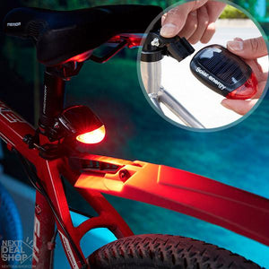 Solar-Powered Bicycle Tail Light