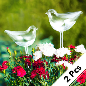 2 Pcs Self-Watering Plant Glass Bulbs