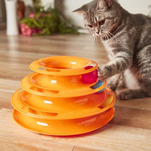 Ultimate 3 Track Disc Cat Toy