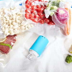 Cordless Vacuum Sealer (5 Reusable Vacuum Bags included)