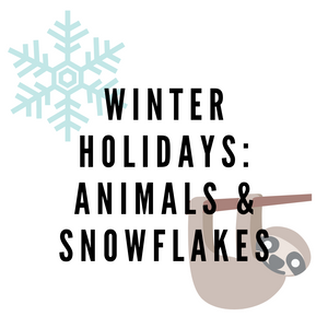 MASKS - Winter / Holiday - Animals & Snowflakes