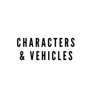 MASKS - Characters & Vehicles