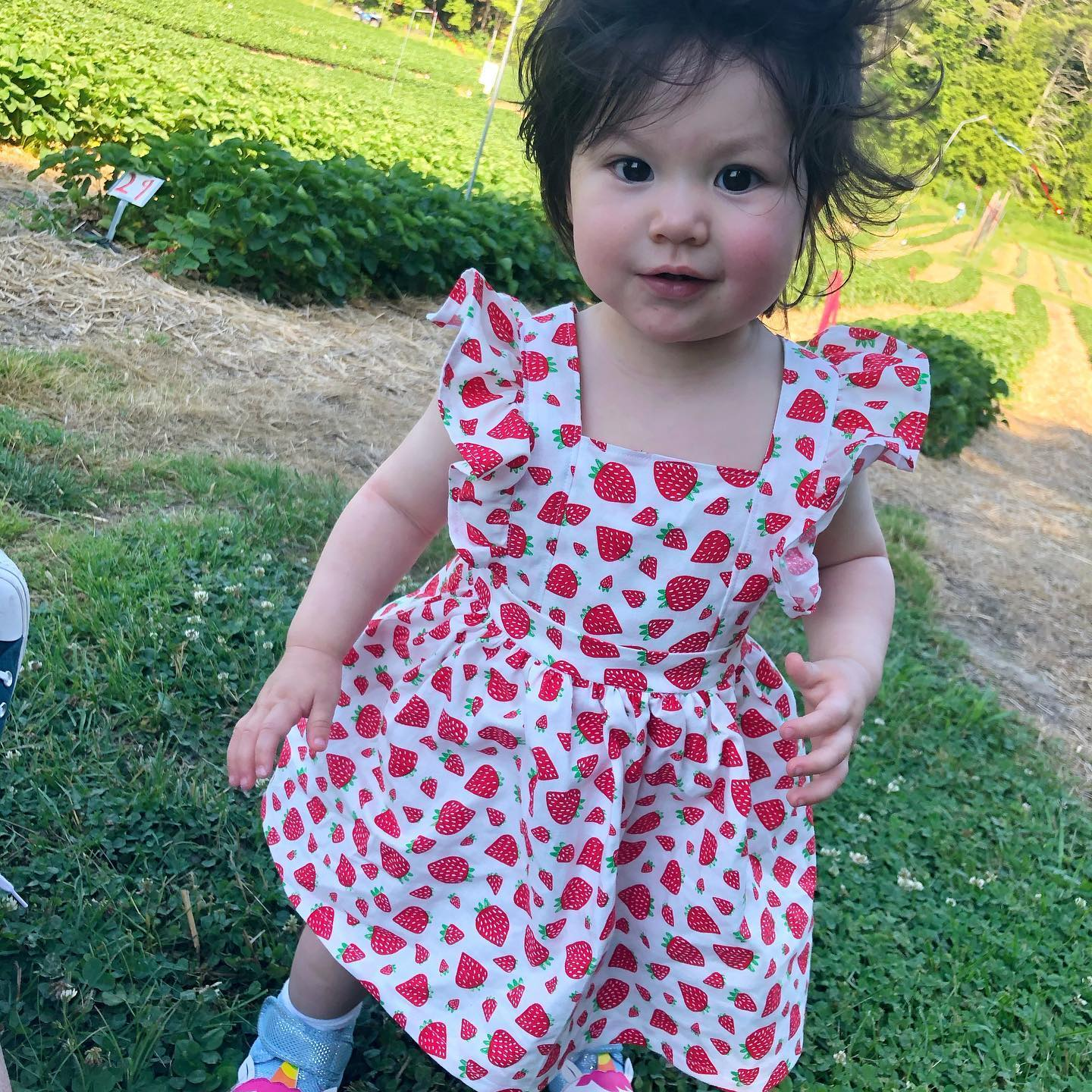 Strawberry fun for little ones