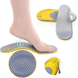 Orthopedic Insoles For Women Men Breathable 3D