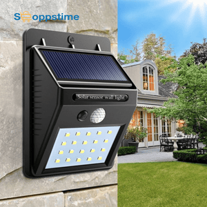 Solar Rechargeable LED Light Outdoor Garden lamp