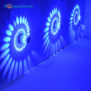Spiral Hole Wall lights