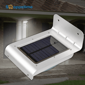 LED Solar Garden Light Motion Sensor