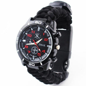 Multi-functional Paracord Watch
