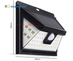 Motion Sensor Solar Powered Outdoor LED