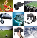 HD High Power Magnification Monocular Universal Fit