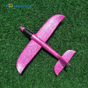 LUMINOUS HANDLAUNCH FLYING AIRPLANE! (Buy 1 GET 1 FREE)